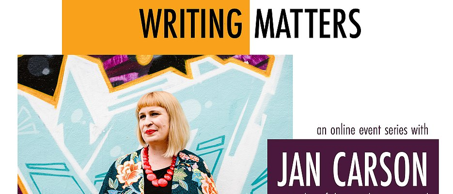 Jan Carson - Writing Matters