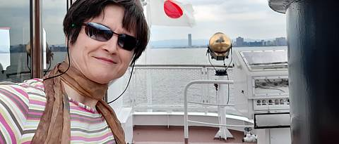 Alumna Barbara Lohoff in Japan, Foto: Privat