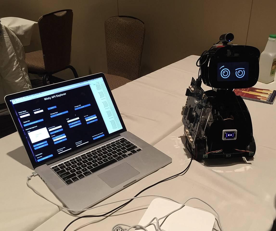 Vortrag auf der Human-Robot Interaction 2018, Chicago