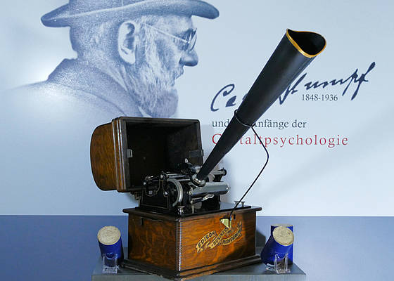 Photo of a Phonograph