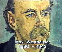 Drawing of Max Wertheimer
