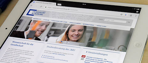 Internet Pages of the University of Würzburg