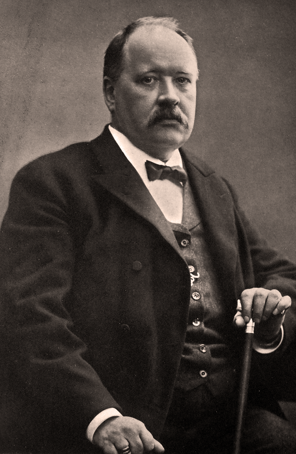 Portrait of Svante Arrhenius
