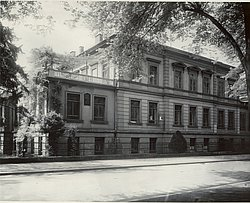 The Physical Institute in 1927.