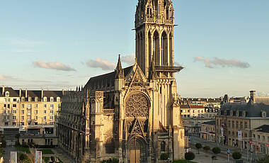 Kathedrale in Caen