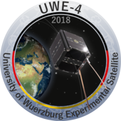 UWE 4 Badge mit Logo