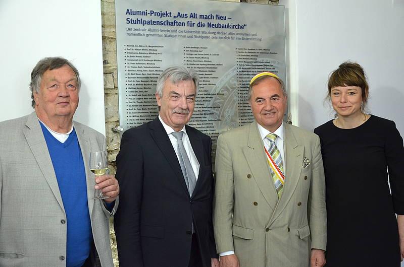 Polster Projekt In Der Neubaukirche Alumni